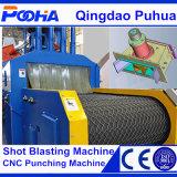 Machine de nettoyage de grenaillage de courroie de maille