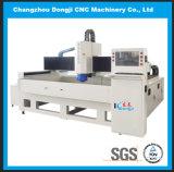 De horizontale CNC Scherpende Machine met 3 assen van het Glas voor de Decoratie van het Glas