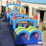 Curso de obstáculos inflável adulto da parte superior nova do projeto para a venda (BJ-AT40)