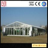 do casamento luxuoso de alumínio da tampa de PVC do frame de 15X25m barraca de vidro com impermeável