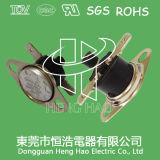 Termostato del bimetallo di risistemazione manuale Ksd301