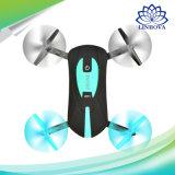 Mini Selfie helicóptero Pocket plegable portable del abejón de 2.4G WiFi Fpv con la cámara de 720p HD