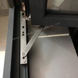 Guichet en aluminium de haute qualité avec l'exécution ouverte de tissu pour rideaux (JFS-55002)
