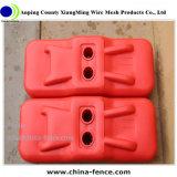 Блок /Recycled временно ограждая ног/пластичного блока резиновый (XMR3)