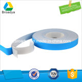 nastro adesivo solvibile della gomma piuma del PE di spessore di 2.0mm doppio (bianco/Black/33kg/m3/BY3020)