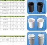 Superbmelt a personnalisé de divers creusets cylindrique d'alumine de taille et de matériau