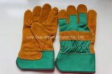 Handschoen van de Bestuurder van het Lassen van het Leer van de Koe van 10.5 Duim de Werkende met Ce