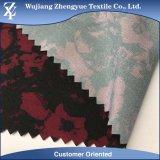Tela de estiramiento ligera tejida ropa de deportes de la manera del Spandex 4 del poliester con la impresión de Digitaces