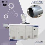Производственная линия трубы PVC/пластичный твиновский штрангпресс винта (вертикальная коробка передач)
