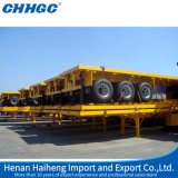 Flat Bed Bulk Cargo Transport Semi Trailers
