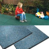 Outdoor Playground (1244年)のための斑入りのRubber Tiles