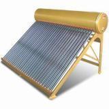Calefator de água solar Integrated da câmara de ar de vácuo da Não-Pressão