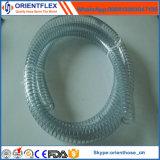 Высокотемпературная труба стального провода PVC пластичная/усиленный шланг