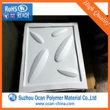 3D 벽면을 형성하는 진공을%s 0.75mm 간격 백색 매트 PVC 엄밀한 장