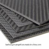 folha /Plate da placa da fibra do carbono 3k