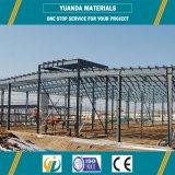 Prefab светлые пакгауз/здание металла стальной рамки