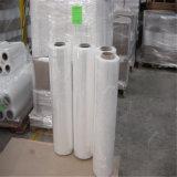 80 película de estiramento plástica de moldação do envoltório da pálete do calibre 1500FT LLDPE