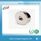 ISO9001 аттестовало спеченный N35 магнит кольца неодимия