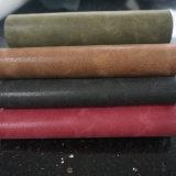 Cuir artificiel gravé en relief de PVC de Yangba pour le sac à main