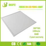 Programa piloto ligero plano del panel LED Lifud de la lámpara los 60X60cm del techo de la oficina