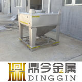 Réservoir de l'acier inoxydable IBC pour la mémoire et le transport de poudre