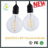 UL aufgeführtes 120V 4W G95 G30 verdunkelnd Birne des Heizfaden-LED Edison