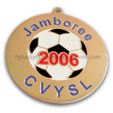 Medalha redonda metálica personalizada com logotipo (GZHY-MEDAL-002)