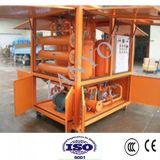 Purificador de óleo horizontal da isolação do vácuo do Dobro-Estágio de dois evaporadores