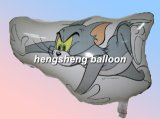 Воздушный шар скачками формы