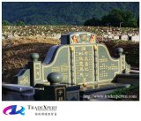 Het Chinese Monument van het Graniet van de Stijl Eenvoudige herdenkt Voorvaderen