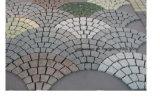 自然な玄武岩または斑岩またはスレートのまたは転落させたまたは砂岩または花こう岩の石造りの舗装の立方体かブラインドまたはペーバーの石または敷石