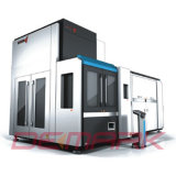 Máquinas de alta velocidad del moldeo por insuflación de aire comprimido del estiramiento (DMK-R14)