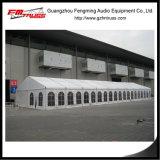 Formato provvisorio delle tende 20mx80m del magazzino per uso di memoria