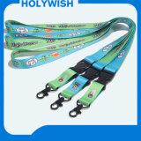 Logotipo del evento Breakaway sublimación de poliéster de nylon cuerda de seguridad personalizada impresión de la sublimación