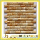 Onyx amarelo, Onyx do mel (laje do Onyx, telhas, mosaico) (YQG-MS1001)
