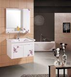 Sanitaryware PVC浴室用キャビネットの浴室の虚栄心(W-181)