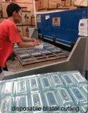 Máquina hidráulica de corte de 4 colunas para couro / borracha / plástico / Bagagem e espuma