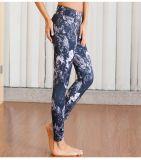 Passende kundenspezifische Sublimation gedruckte Yoga-Gamaschen, Komprimierung-Strumpfhosen, Großhandelsyoga-Hosen trocknen