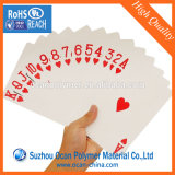 Hoja del PVC de la alta calidad para la impresión de la tarjeta que juega