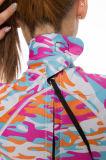 ダイビングのための極度の伸縮性があるネオプレンの女性のカムフラージュのサーフのスーツ