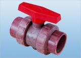 Vera valvola a sfera del sindacato (Q61F-6S), valvola a sfera di plastica, valvola a sfera del PVC