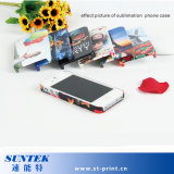 Случай телефона сублимации крышки 3D пластичной передачи тепла PC 2D