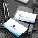 De PVC de matériau impression en plastique de cartes de visite professionnelle de visite avec goût avec le jet d'encre