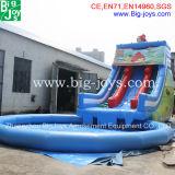 Bon marché 14m * 5m * 6m Glissière gonflable pour enfants
