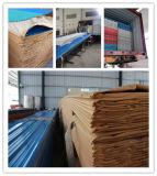 Apvc acanaló el azulejo plástico de la hoja del material para techos