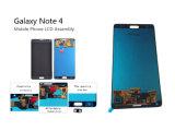 Экран касания LCD запасных частей мобильного телефона для Samsung Note4