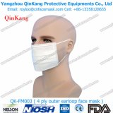 4 a gettare maneggiano il respiratore non tessuto e la maschera di protezione medica di procedura di Earloop Qk-FM003