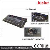 Mixer van de Macht DSP van de Mixer van het Kanaal van Jusbe jb-L24 24 de Professionele Audio+4V Maximum