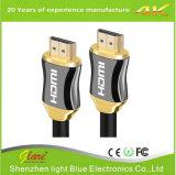 Металл HDMI к кабелю компьютера HDMI