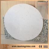 Камня кварца Bianco сляб кварца Carrara белого белый искусственний